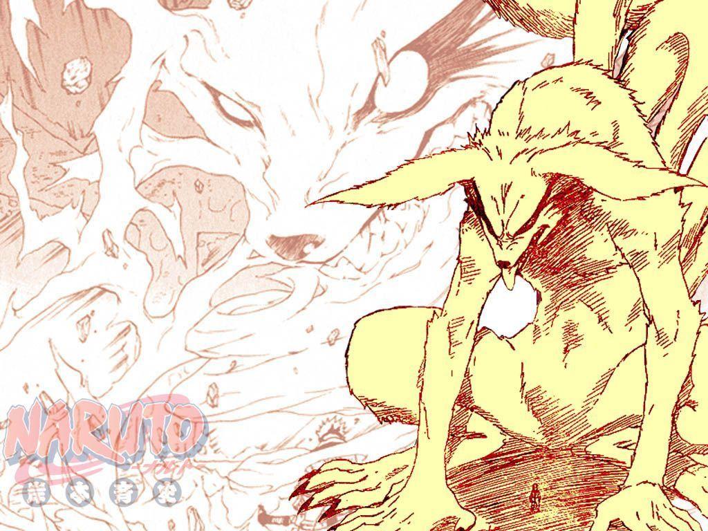 Naruto et d mon renard dessin naruto demon renard - Naruto renard ...